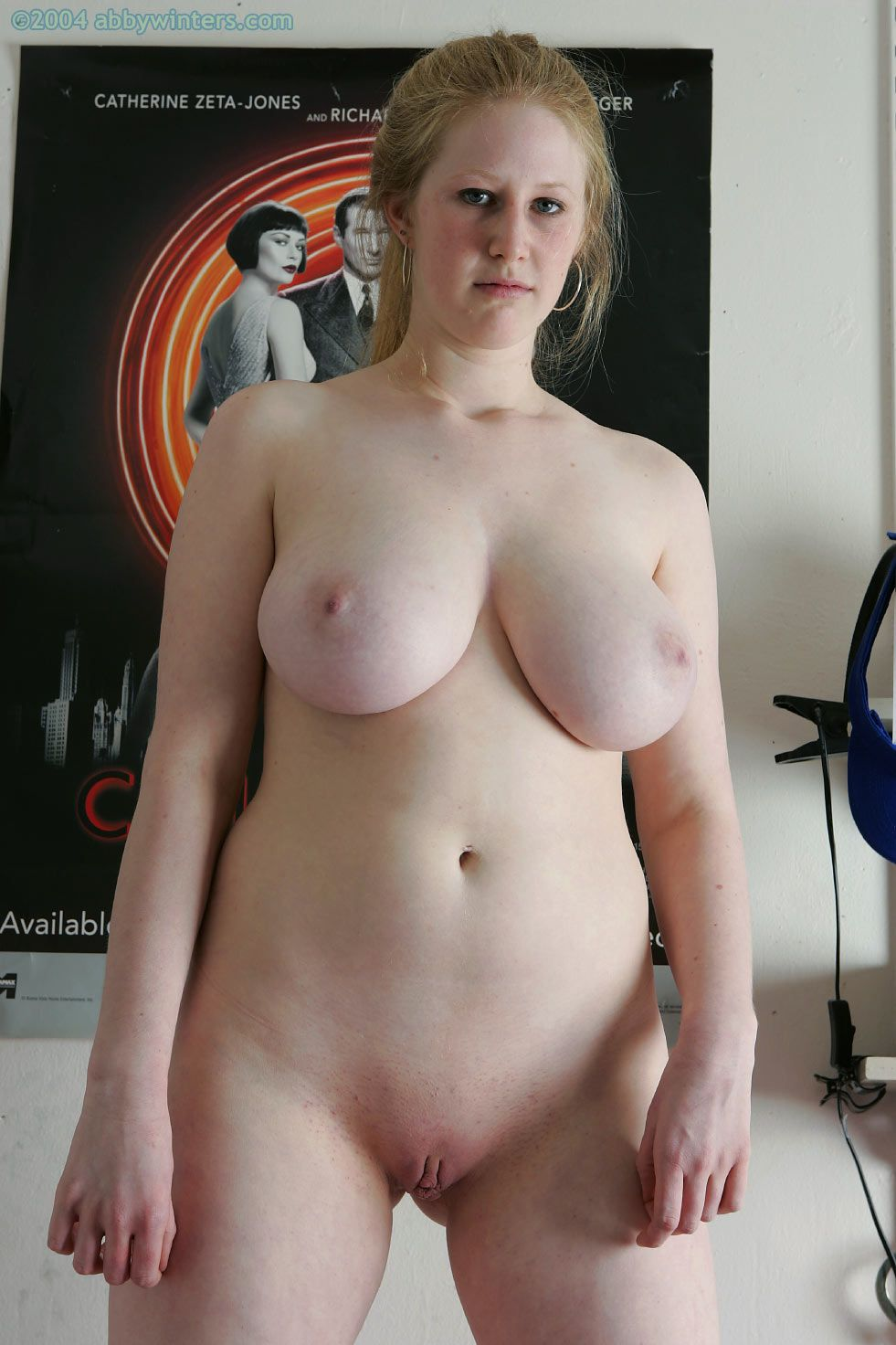 chubby girl naked
